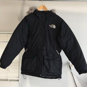 The North Face Parka Women Warm Goose Down Fill M